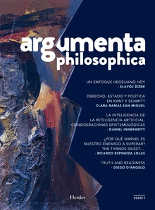 Argumenta philosophica 2020 - Vol.1