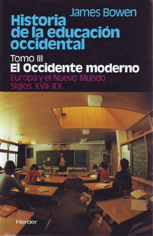 Historia de la educación occidental. Tomo III